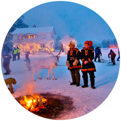 Santas Winter Village - Pajala Sweden